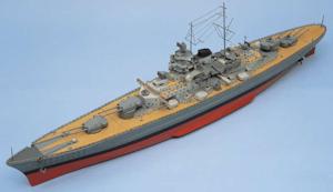 Schiffsmodellbau, Kriegsschiffe