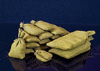 Stoff Sandsäcke