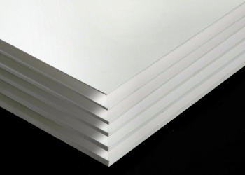 PVC Schaumplatten, weiß