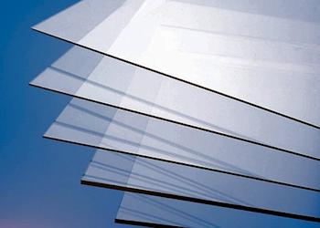 PVC Platten, klar transparent