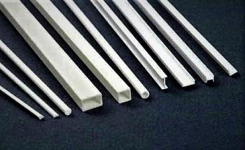 Plastik: ASA- Profile, Profil Platten