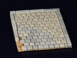 270 Keramik Pflastersteine Granit quadratisch 1:35
