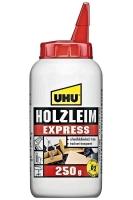 UHU Holzleim Express, besonders schnell abbindend, 250 g