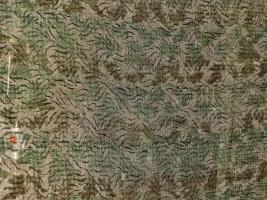 Dioramazubehör, 1 dünnes Tarnnetz grün flecktarn, ca. 20 x 29 cm,