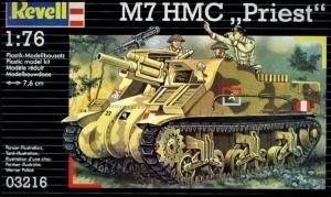 M-7 HMC Priest 105 mm SPG in 1:76