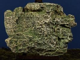 Diorama Zubehör, colorierte Felsen- Platte, Granit