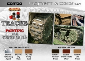 Pigment & Color Set, Tracks Painting + Weathering