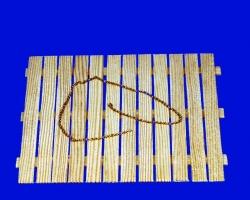 1m  Messing Kette, 0,3 mm Drahtstärke