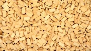 2.000 Keramik Ziegelsteine klinkergelb 1:72 von Juweela