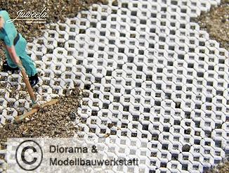 190 beton rasengittersteine grau 1 87 juweela diorama. Black Bedroom Furniture Sets. Home Design Ideas