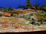 Diorama Grundplatte 48, Grabenstellung II, 42 x 30 cm, 1:72