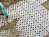 190 Beton Rasengittersteine grau, 1:87 Juweela