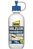 UHU Holzleim, wasserfest D3, höchste Bindefestigkeit, 75 g