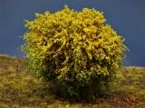 Diorama Zubehör, 1 Modellbaum- Busch mit gelben Blüten, 12 - 15 cm hoch