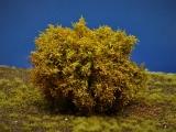 Diorama Zubehör, 1 Modellbaum- Busch mit gelben Herbstlaub, 15 - 16 cm hoch