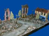 Diorama, Straßenkreuzung Normandie 1944, 1:35