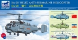 Kamov KA-28 HELIX Anti-Submarine Helicopter (Bausatz) in 1:200
