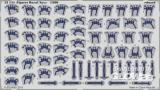 Figures Royal Navy in 1:200