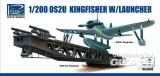OS2U-3 Kingfisher with Launcher (ModelKitsX2) in 1:200