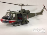 UH-1 Huey C-174th Assault Helicopter Com Company Shark in 1:18