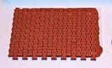 8 Pflastersegmente Knochenpflaster rot, 1:35 Juweela