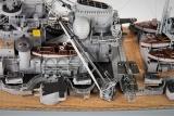 Beschlag Bausatz, für Bismarck Schlachtschiff