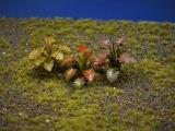 Diorama Zubehör, 1 Pflanzen Set 14, ca. 5 cm hoch