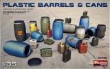 Plastic Barrels & Cans in 1:35