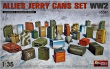 Allies Jerry Cans Set WW2 in 1:35