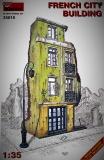 Französisches Stadthaus Ruine, Halbrelief in 1:35