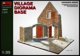 Diorama Bausatz, Dorf Haus mit Hoftor in 1:35