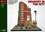 Diorama Bausatz, Russische Infanterie in der Stadt in 1:35