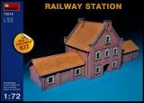 Bahnhofsgebäude in 1:72