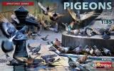 Pigeons, Tauben in 1:35