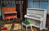 Piano Set, 2 Klaviere in 1:35