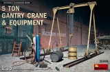 5 Ton Gantry Crane & Equipment in 1:35
