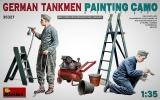 German Tankmen. Painting Camo in 1:35