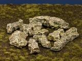 Diorama Zubehör, colorierte Felsen- Platten, Granit