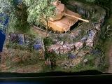 Diorama, Panzerstellung am Dorfrand, 1:35