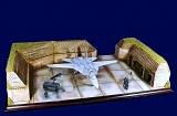 Diorama Grundplatte 86, Nato Beton Splitterbox, 1:72