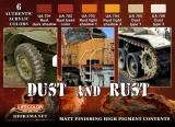Dust and Rust Colr Set, Staub Schlamm und Rost Set