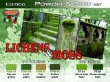 Pigment & Color Set, LICHENS MOSS