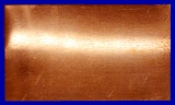 Kupfer Blech 200x200 mm Stärke 0,8mm