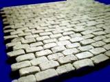 600 alte Pflastersteine Granit rechteckig 1:35