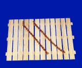 20 cm Messing Kette, 0,8 mm Drahtstärke
