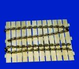 1m Messing Kette, 1,0 mm Drahtstärke