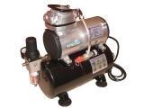 Airbrush Hobby Kompressor, AS-186 mit 3,0 L Druckbehälter