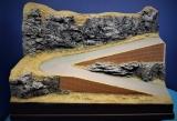 Diorama Grundplatte 35, Passstraße, 42 x 32 cm, 1:87