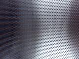 Rundloch (RV 1,5/2,5) 1,0 x 250 x 400 mm Aluminium Lochgitter