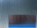 Aluminium Wellblech 3mm Welle, halbhart glatt, 250x250 mm, 0,5 mm